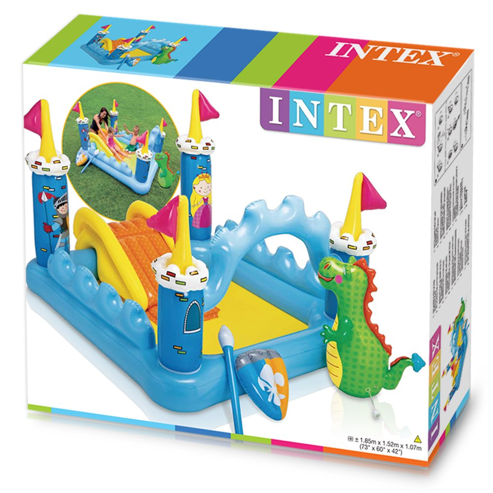 intex dinoland play center instructions