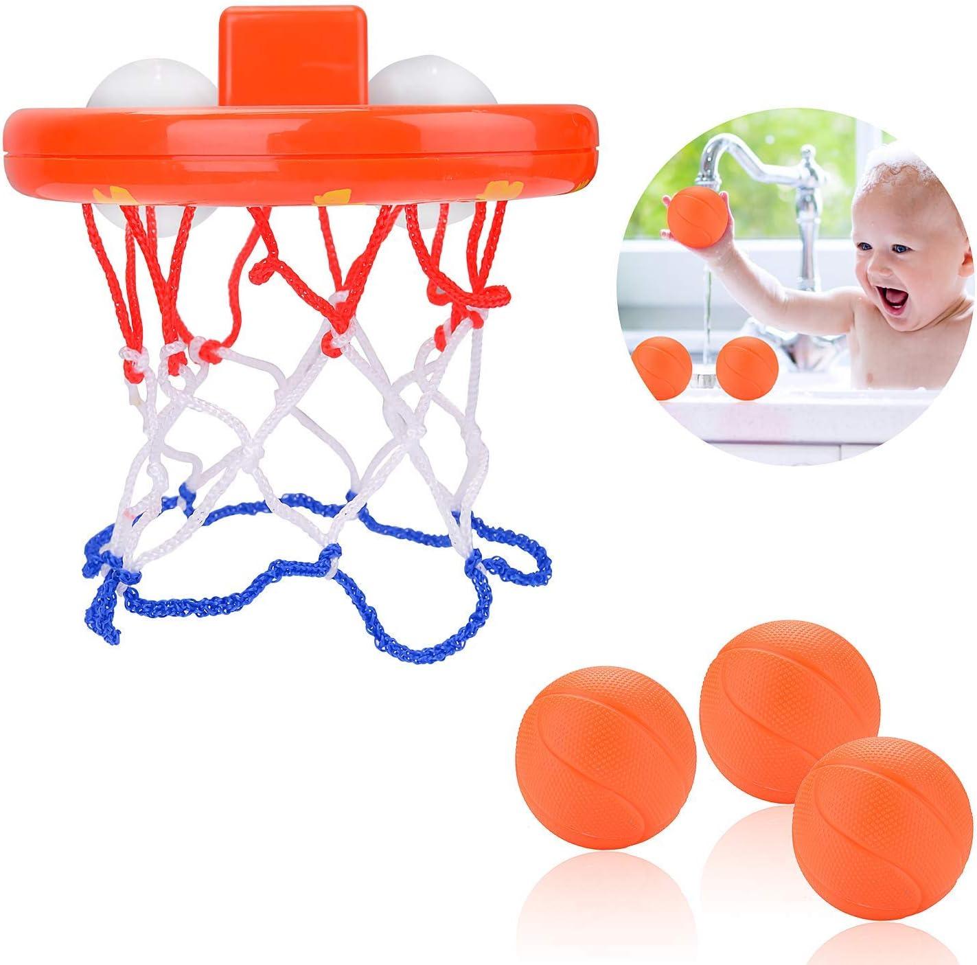 Rmeet Juguetes de Baño Baloncesto,Canasta Baloncesto Infantil ...