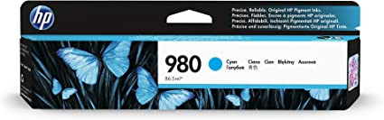 See 2nd Bullet Point for Compatible Machines QSD Compatible Ink Cartridge Replacement for HP 980 Cyan D8J07A Cyan 2-Pack Free 1 to 2 Day DELIVERY