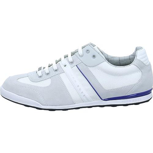 suche nach echtem frische Stile Neuankömmling Hugo Boss Akeen Herren Sneaker Größe 43 Weiß (Weiß): Amazon ...