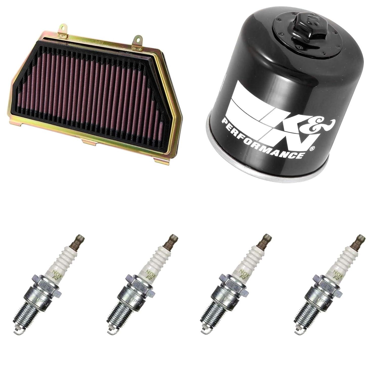 K & N ngk Mantenimiento Set Honda CBR 600 RR 09 - 16 Service Kit: Amazon.es: Coche y moto