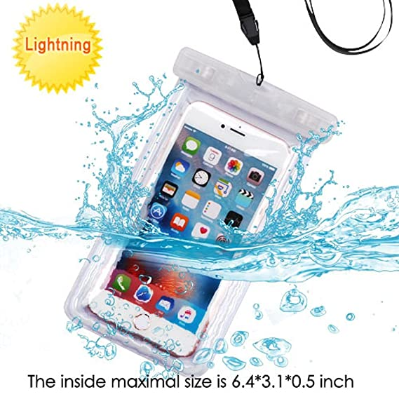 promo code 4e5f1 92728 Mybat Universal Transparent Lightning Waterproof Bag with Lanyard for ZTE  Grand X 4/ Samsung Galaxy J7(2015)/ J7(2016)/ Note 5/ S6/ S6 Edge/ S6 Edge  ...