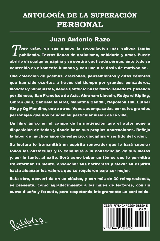 Antología De La Superación Personal Spanish Edition Juan Antonio
