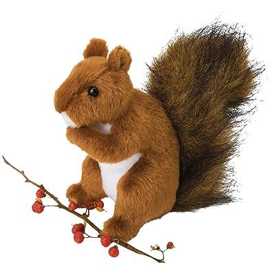 Douglas Roadie Red Squirrel Plush Stuffed Animal: Toys & Games