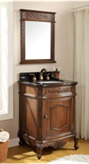 Amazon Com Powder Room Special Camelot Bathroom Sink Vanity W