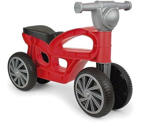 Chicos Correpasillos con 4 Ruedas Color Mini Custom roja Fábrica de Juguetes 36006