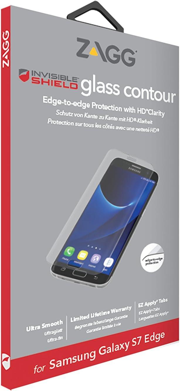 Zagg InvisibleShield Glass Contour Galaxy S7 Edge 1 Pieza(s): Amazon.es: Electrónica