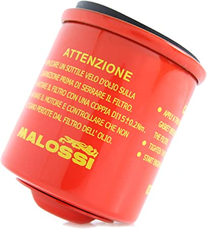 Malossi Ölfilter Red Chilli Für Aprilia Italjet Piaggio Vespa Habana Mojito Torpedo Hexagon Lx4 Liberty Et4 Alt 125ccm Auto