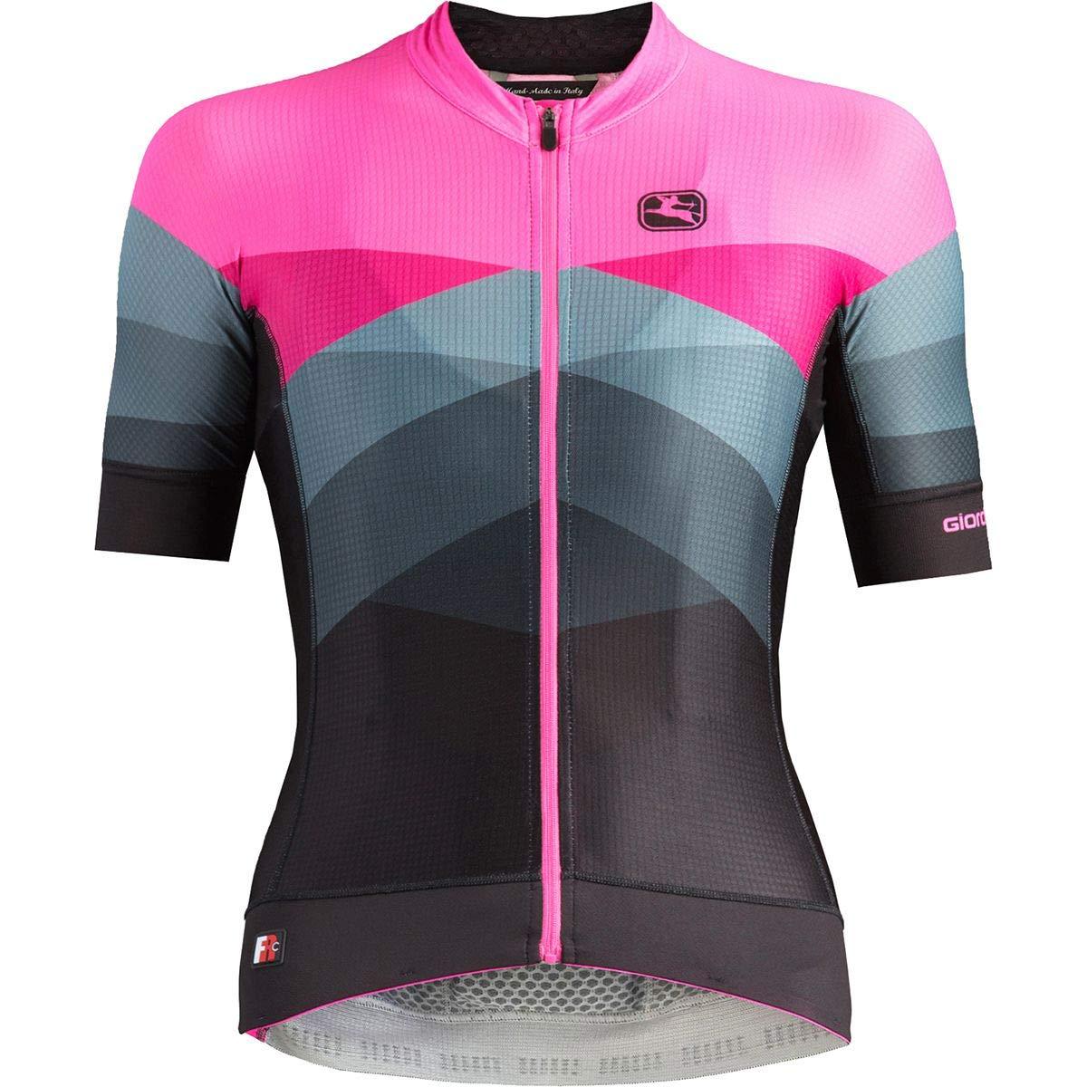 Giordana Moda FR-C Pro Short-Sleeve Jersey - Women's Dolomiti/Pink, XS