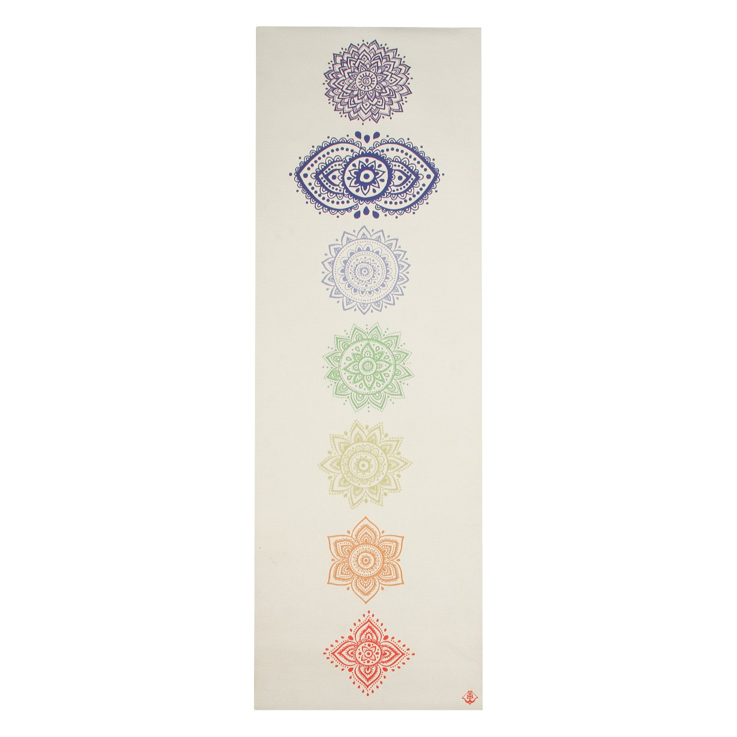 Spiritual Warrior Chakra Yoga Mat: Amazon.es: Deportes y ...