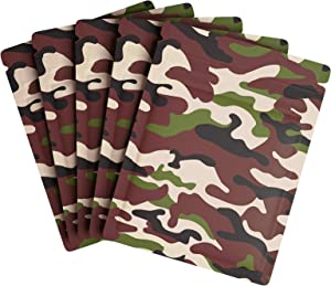 60 PCS Ziplock Mylar Bags, 3x4in 3.5g Resealable Smell Proof Food Storage Bags Thicken Aluminum Foil Mylar Bags Food Safe Bags for Home Food Storage (Camouflage)