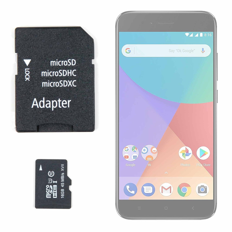 DURAGADGET Tarjeta de Memoria Micro SD HC 16 GB + Adaptador para ...