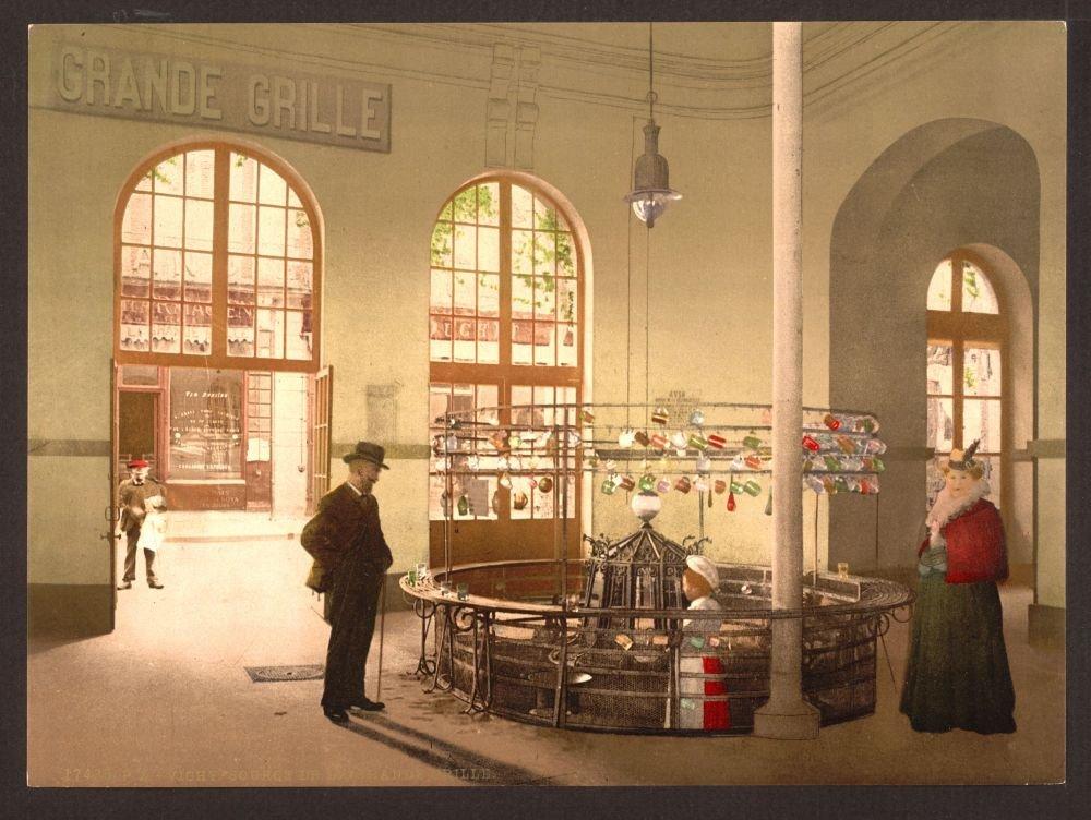 Fuente de fotos de 1890 de la grande (parrilla, (Copa ...