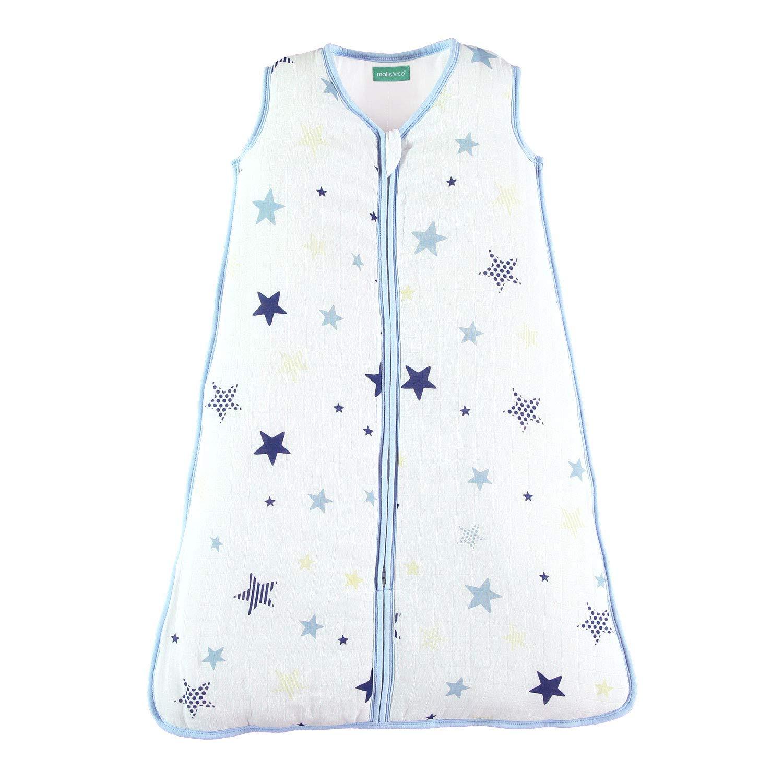 Muselina Premium Acolchado. molis/&co Saco de Dormir para beb/é Ideal para Entretiempo e Invierno 2.5 TOG S/úper Suave y c/álido