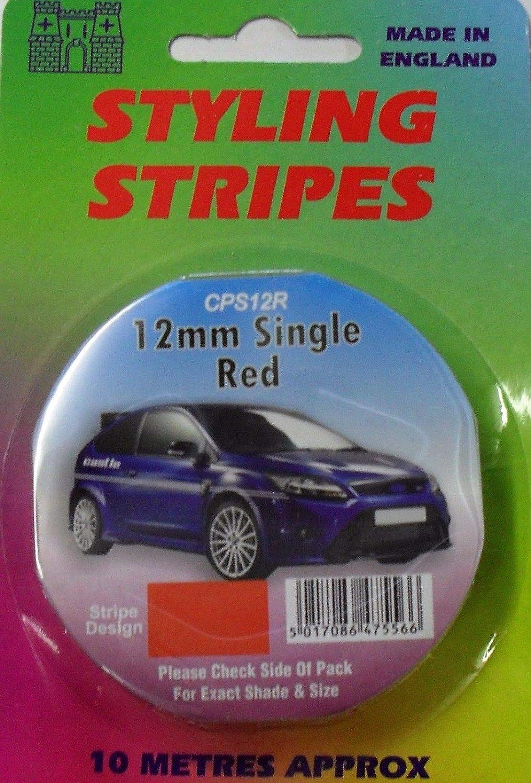 Silver Coach Tape Styling Stripe Gold Red Pin Stripe 12mm x 10mtr Self Adhesive Car Pin Stripe Black White Black