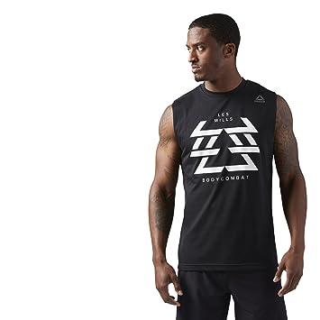 Reebok CamisetaHombreNegroXsAmazon Bodycombat Lm Muscle es D2eH9IWEYb