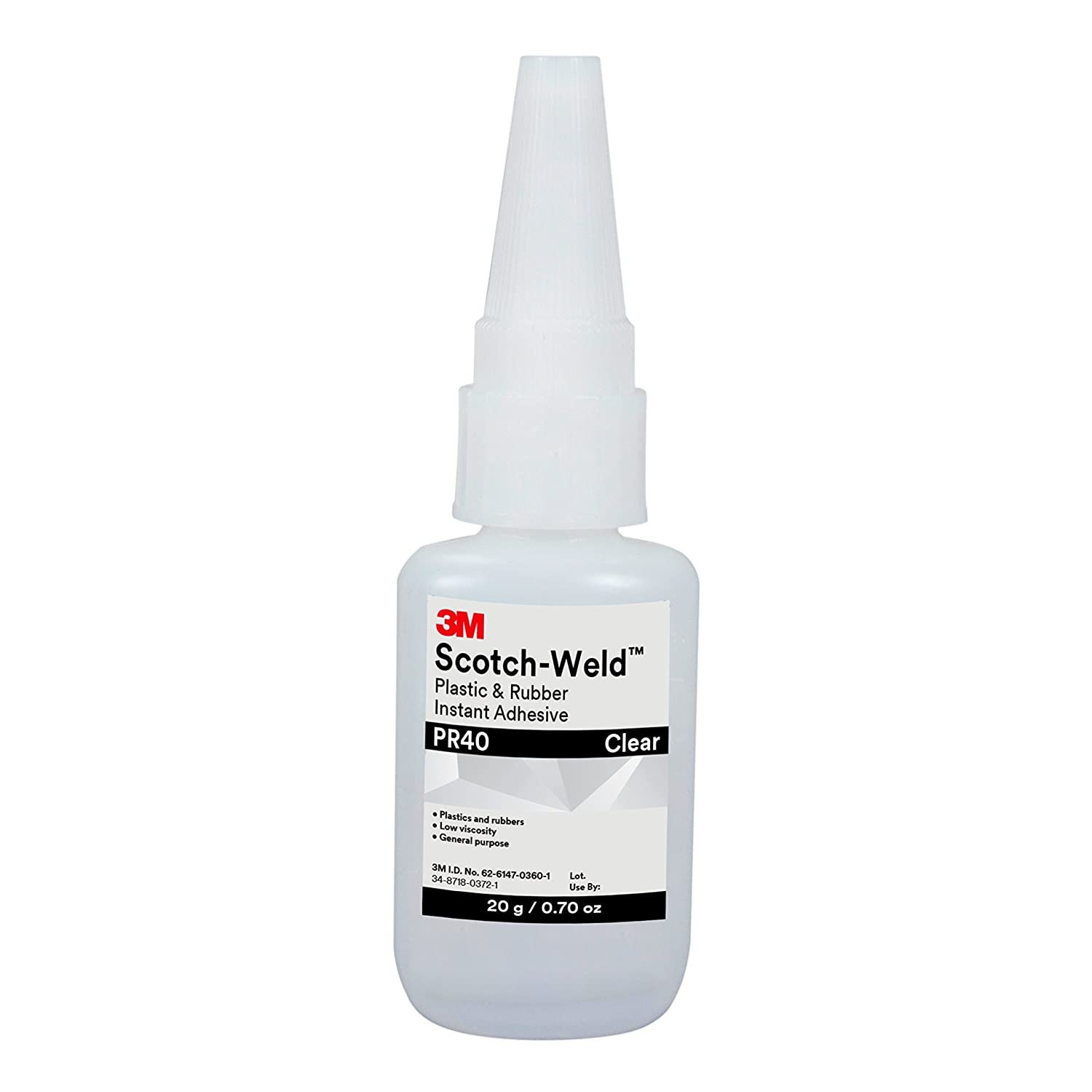 3M Rubber Clear Instant Adhesive