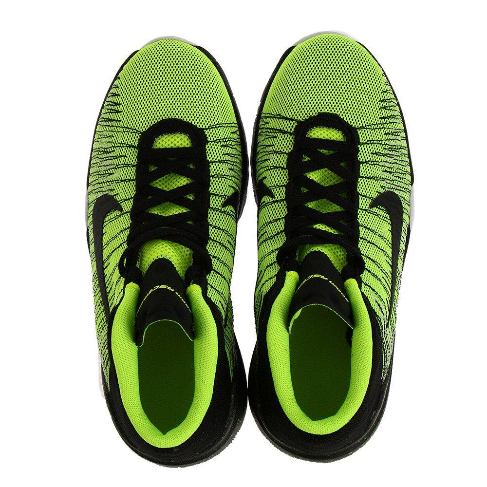 half off e7408 06b60 Amazon.com   Nike Boy s Zoom Ascention (GS) Basketball Shoe Volt Black White  Size 6 M US   Basketball
