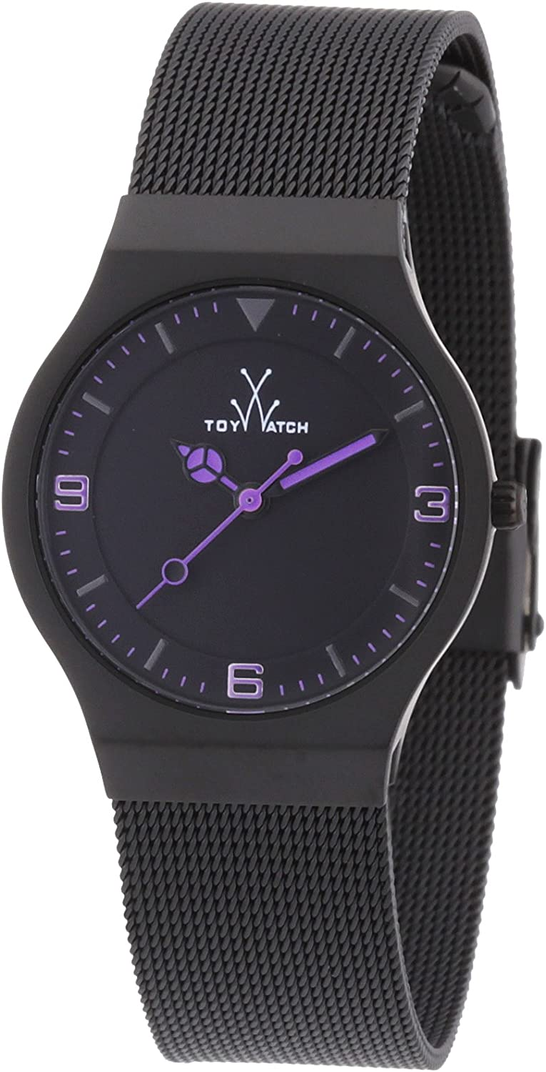 ToyWatch Women s MH09BK Mesh Black Stainless Steel Watch
