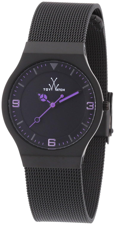 ToyWatch Women s MH09BK Mesh Black Stainless Steel Watch