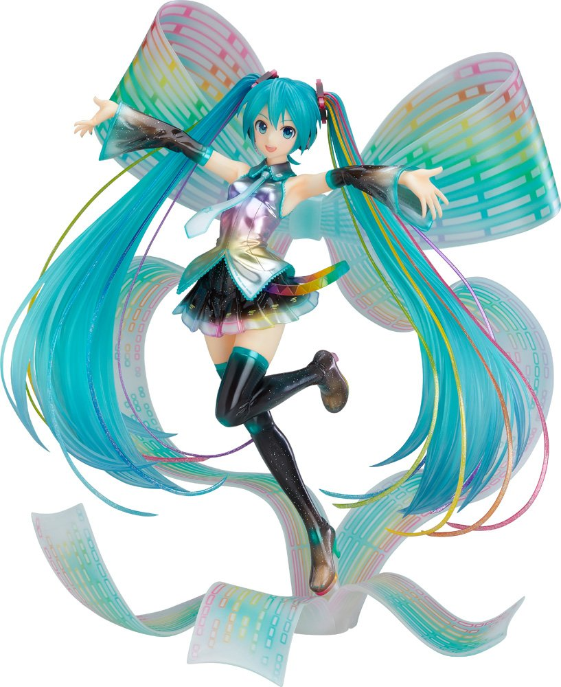 Good Smile Hatsune Miku  10th Anniversary Version Memorial Box 1 7 Scale PVC Figure