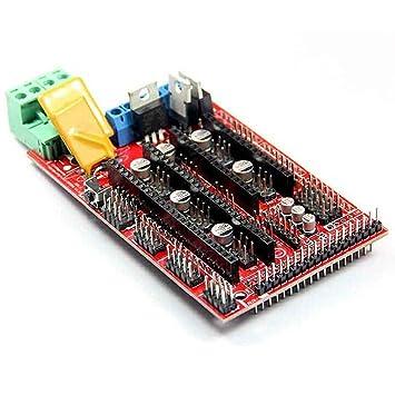 Controlador de impresora 3D para RAMPAS 1.4 Reprap Mendel Prusa ...