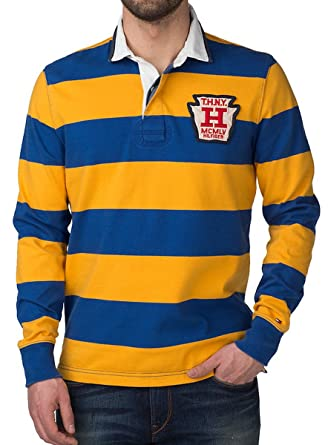 Tommy Hilfiger Vintage Rugby Long-de Camiseta de Manga Corta para ...