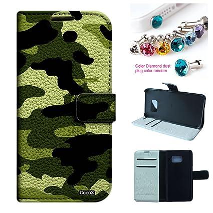 Amazon.com: cocoz® Samsung Galaxy S7 caso piel sintética ...