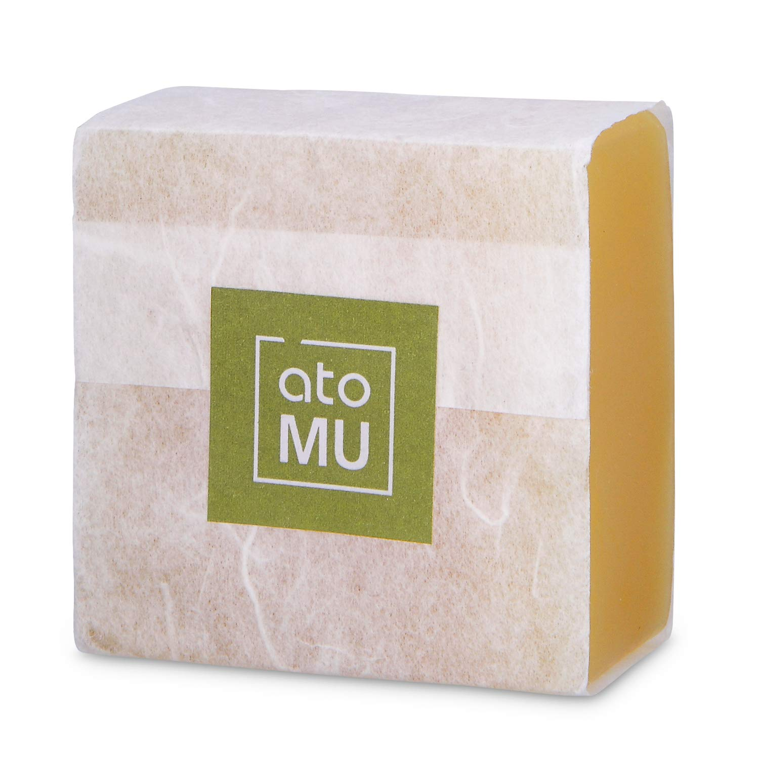 ATOMU Handmade Soap vegan soap with patented ingredients for Sensitive Skin and treating eczema, atopy, psoriasis, acne symptoms.