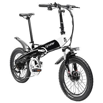 cyrusher® XF500 bicicleta eléctrica plegable ligero bicicleta de ciudad desviador 7 velocidad Motor Puissant 250