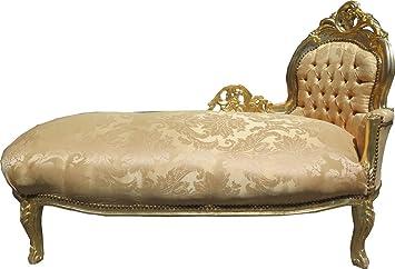 Casa-Padrino Modelo Barroco Chaise Oro/Oro Mod2 - Muebles ...