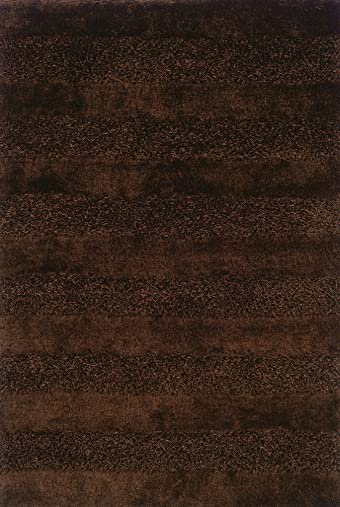 Oriental Weavers 27203 Cocoa Fusion Area Rug, 6-Feet 7-Inch by 9-Feet 6-Inch