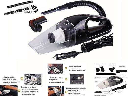 HHD® Aspiradora de mano, Aspirador de Portátil para coche Mojado ...