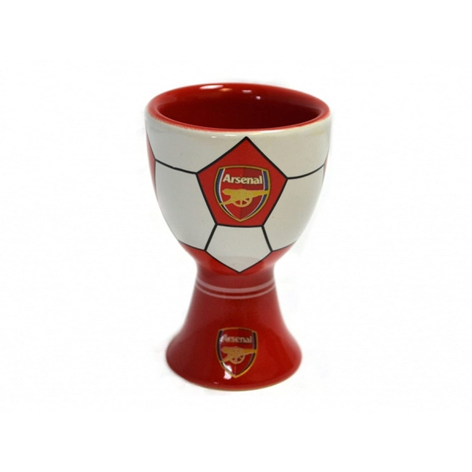 Arsenal FC Official Football Egg Cup (One Size) (Red/White/Gold) UTBS229_1