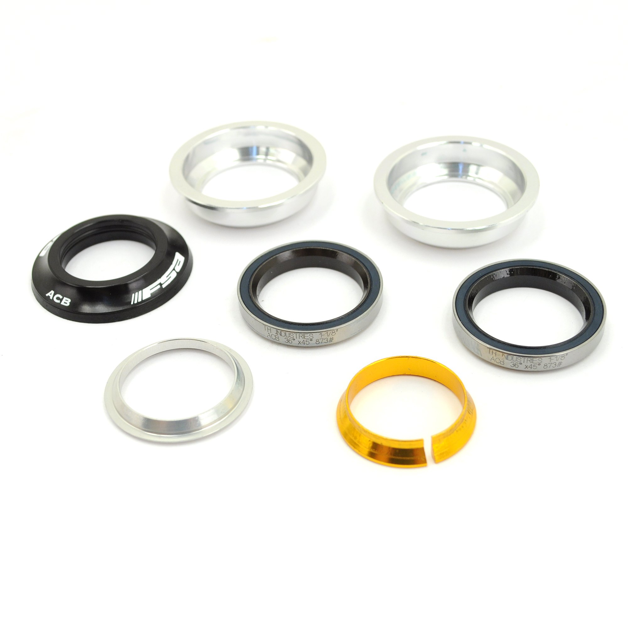 FSA Orbit Z Internal Bike Headset//1-1/8''//8mm//Black