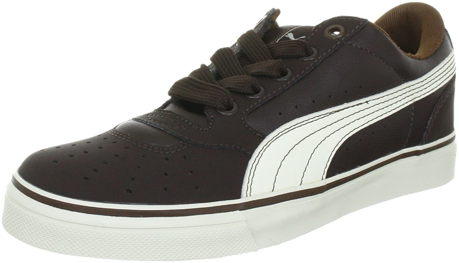 ad55da2fff1 Puma Unisex - Adults Sky 2 Low Vulc Trainers 353272 Chocolate Brow 6.5 UK   Amazon.co.uk  Shoes   Bags
