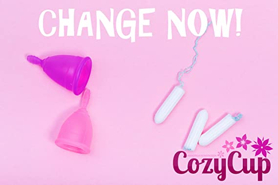 Copa Menstrual CozyCup Sport (Rosa, Pequeño)