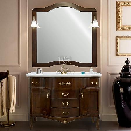 Arredo Bagno Mobili Bagno.Shop Chic Arredo Bagno Mobile Con Lavabo E Specchio Amazon It Casa E Cucina