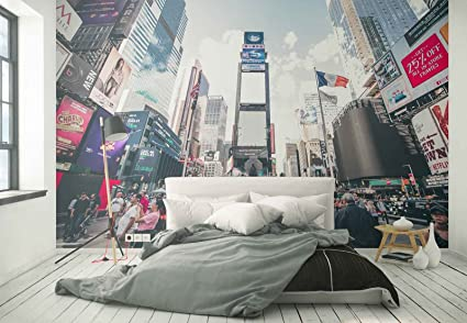 Photo wallpaper wall mural - Time Square New York City ...