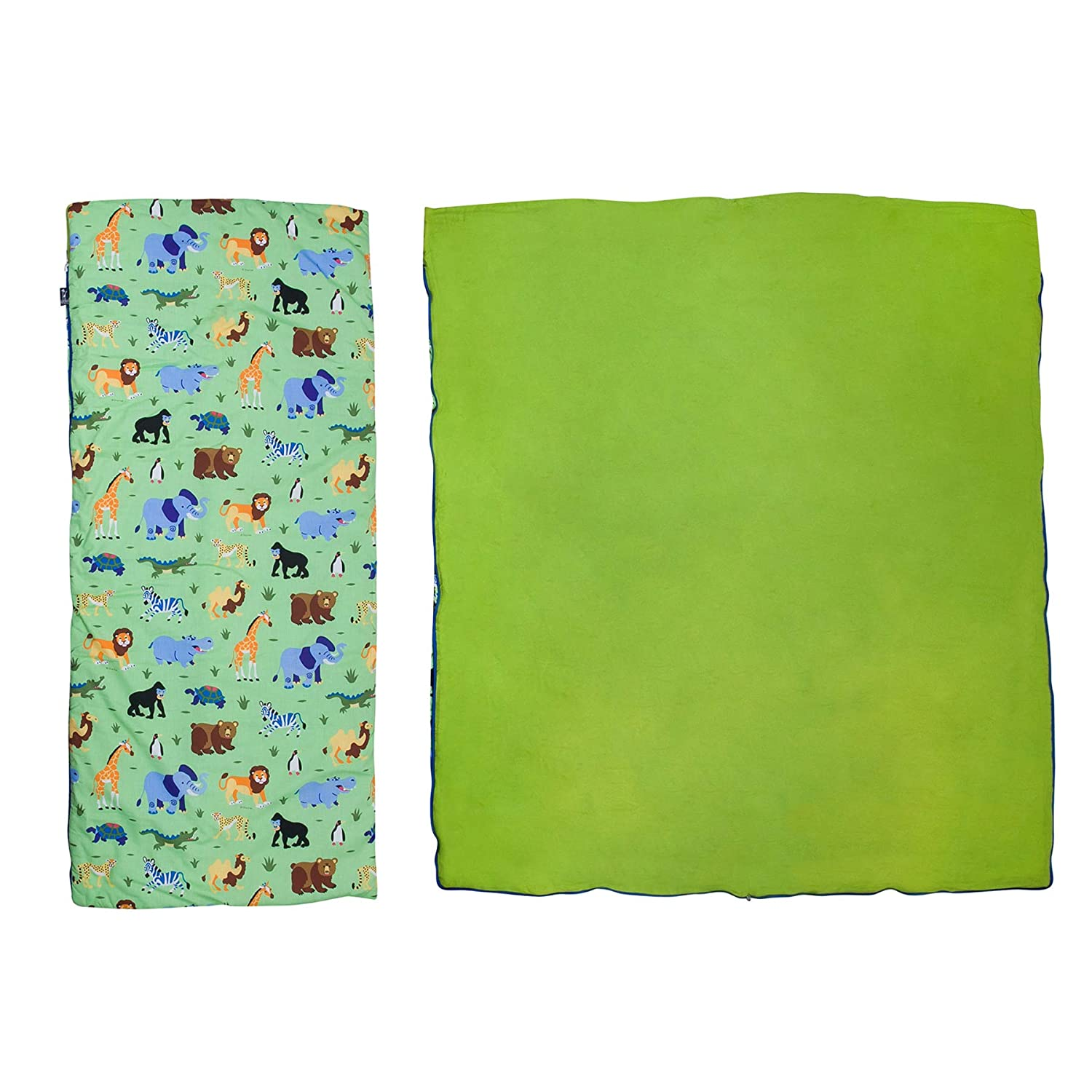 Wildkin Original Sleeping Bag Cars 17801 Features Matching Travel Pillow and Coordinating Storage Bag Perfect for Sleeping On-The-Go