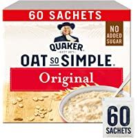 Quaker Oats So Simple Original Microondas 27g Bolsitas