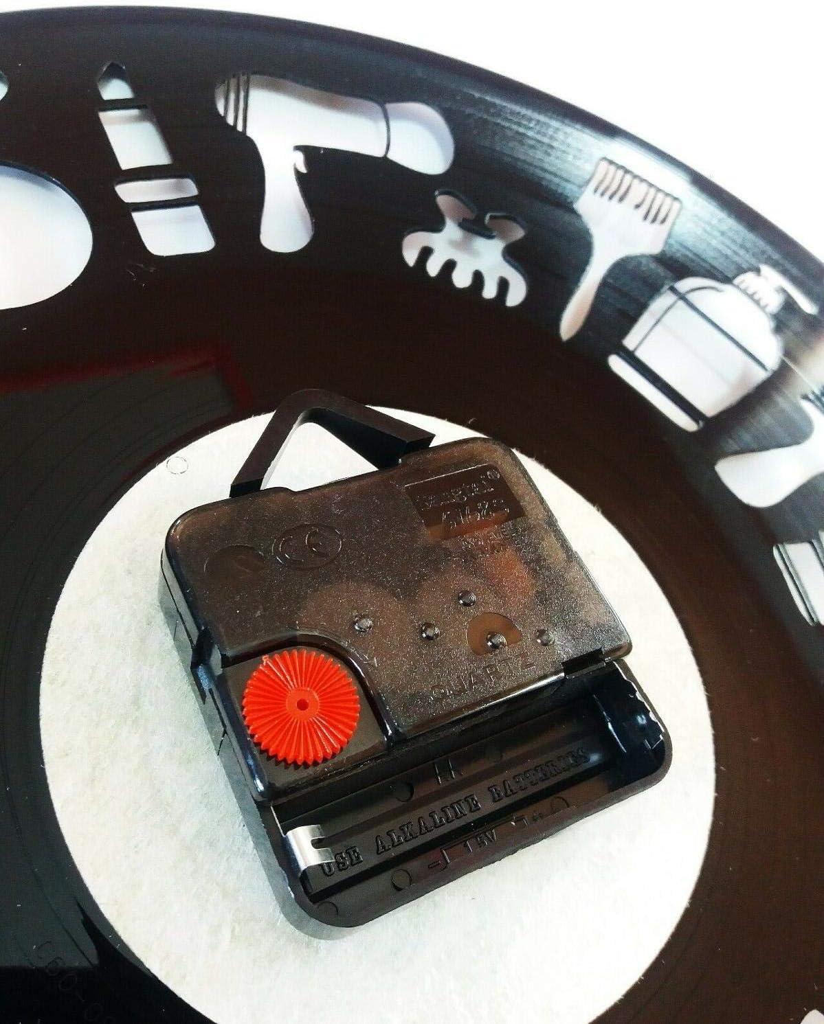 FDGFDG Art Silent Unique Vinyl Clock I Love Cats Record Reloj de Pared Kitten Decor Clock 3D Hanging CD Vintage LED Vinyl Relojes Gatos: Amazon.es: Hogar