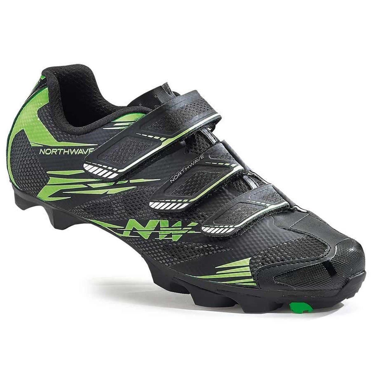 Northwave Scorpius 2 MTB Fahrrad Schuhe schwarz grün 2016