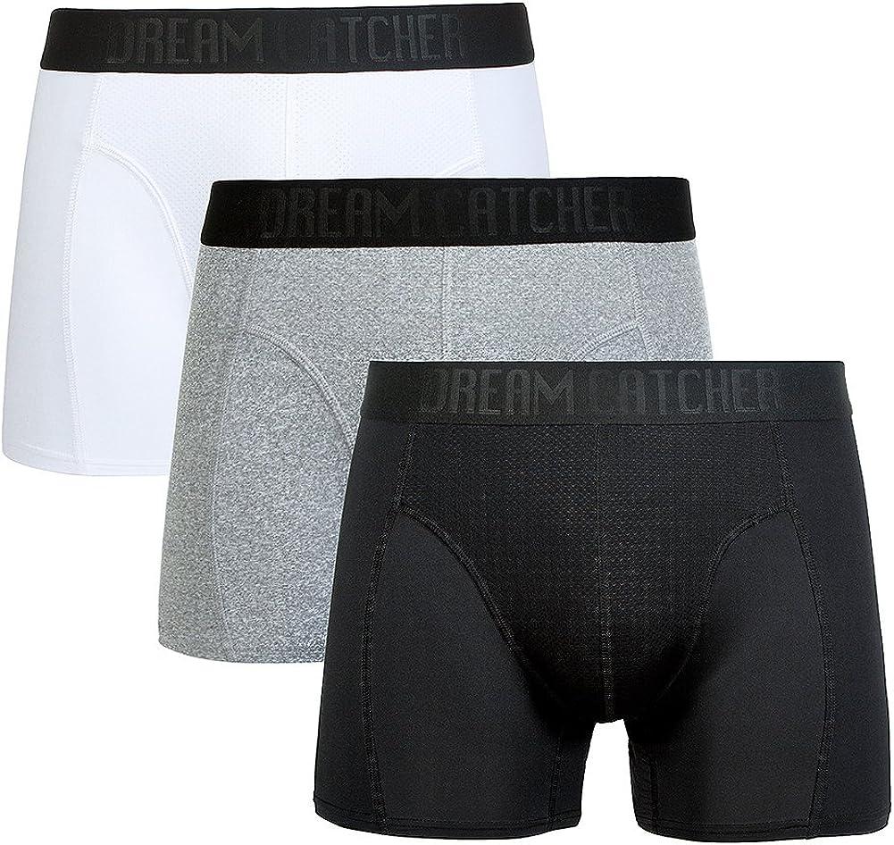 Sports Underwear Breathable Dri Fit Underwear Mens Support Underwear Workout Underwear Athletic Boxer Briefs