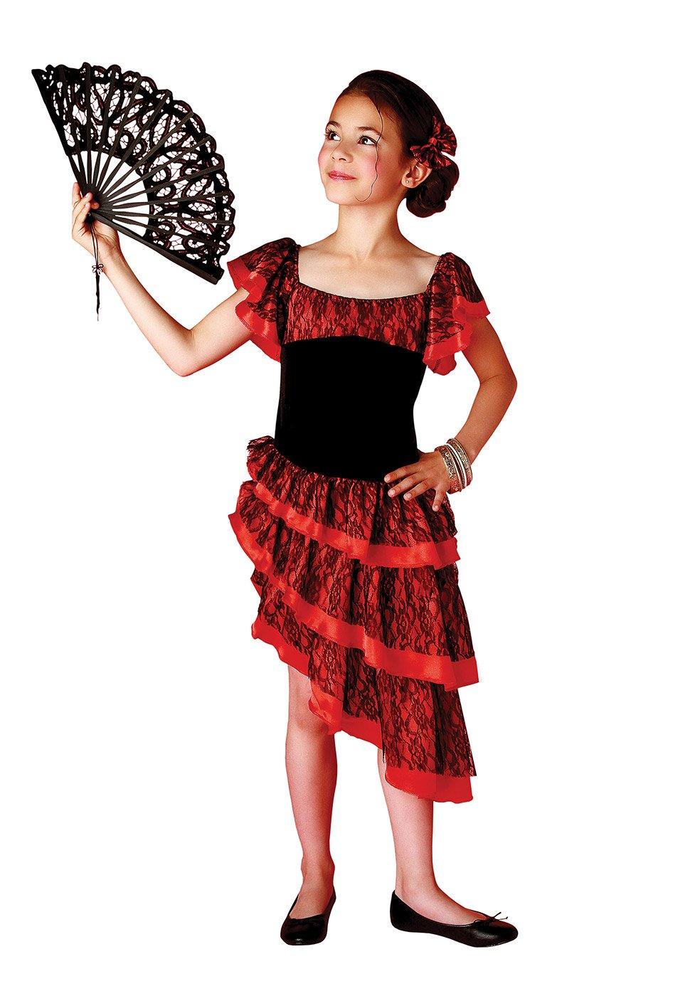 Generique - Costume spagnola bambina: Amazon.it: Giochi e giocattoli