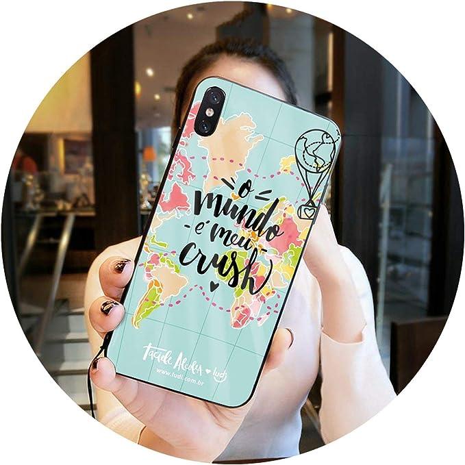 cover iphone 7 mappa mondo