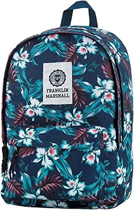 Franklin & Marshall - Bolsa Escolar Beige Fantaisie: Amazon.es: Equipaje
