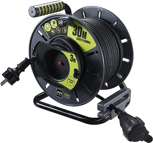 Master Plug Pro-XT jardín-Kabeltrommel Cable alargador con ...