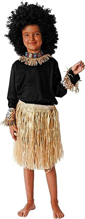 Costumizate! Disfraz de Africano Talla 10-12 Especial para niños ...