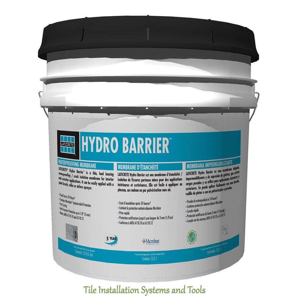 Laticrete Hydro Barrier (1 Gallon) - Tile Grout - Amazon.com